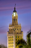 Freedom Tower. Miami Freedom Tower. Historical building of Cuban Inmigration Stock Images