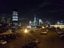 Freedom Tower bij nacht Royalty-vrije Stock Foto