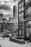 Freedom Tower Black and White Stock Image