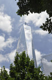 Freedom Tower Building from Manhattan in New York City stock images