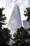 Freedom Tower Building from Manhattan in New York City USA stock photography