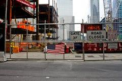 Freedom Tower Construction, Ground Zero Stock Images