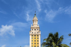 Freedom Tower at daylight. Downtown Miami, Florida Royalty Free Stock Image