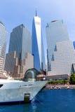 Freedom Tower del puerto Manhattan Nueva York Fotos de archivo