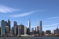 Freedom Tower in downtown New York City Royalty Free Stock Photography