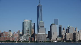 Freedom Tower e Lower Manhattan Nyc Fotografia de Stock Royalty Free