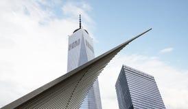 Freedom Tower Ein World Trade Center Lizenzfreies Stockbild
