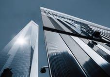 Freedom Tower Ein World Trade Center Lizenzfreie Stockfotos