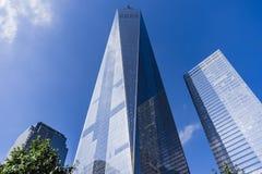 Freedom Tower, ein World Trade Center, New York City, USA Stockfotografie
