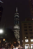 Freedom Tower en la noche Fotografía de archivo