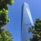 Freedom Tower en Manhattan, NYC Imágenes de archivo libres de regalías