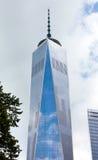 Freedom Tower en Manhattan, NYC Fotos de archivo libres de regalías