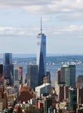 Freedom Tower en Manhattan, NYC Fotografía de archivo