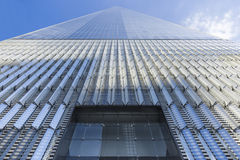 Freedom Tower en World Trade Center, New York City, USA Arkivfoto