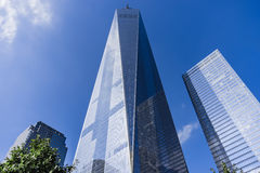 Freedom Tower en World Trade Center, New York City, USA arkivbild
