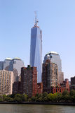 Freedom Tower and Financial District in New York Royalty Free Stock Photo