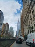 Freedom tower royalty free stock photography