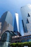 Freedom Tower från hamnen Manhattan New York Royaltyfri Bild