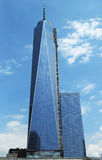 Freedom Tower i Lower Manhattan Royaltyfri Bild