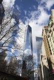 Freedom Tower i Manhattan New York royaltyfria foton