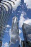 Freedom Tower i Manhattan New York royaltyfri bild