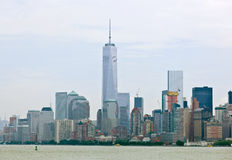 Freedom Tower i Manhattan, NYC Arkivfoto