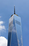 Freedom Tower i Manhattan, NYC Royaltyfri Fotografi