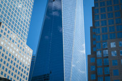 Freedom Tower i New York City Royaltyfria Foton