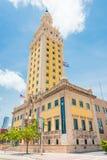 Freedom Tower in im Stadtzentrum gelegenem Miami Lizenzfreie Stockfotografie