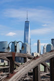 Freedom Tower from Liberty State Park Royalty Free Stock Photography