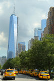Freedom Tower in Lower Manhattan Royalty Free Stock Images