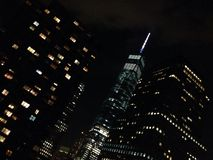 Freedom Tower 9/11 Manhattan Royaltyfri Bild