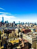 Freedom Tower in Manhattan Royalty Free Stock Photos