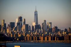 Freedom Tower Manhattan, New York City 2016 arkivbilder