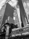 Freedom Tower Manhattan, NYC Royaltyfria Foton