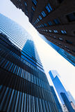 Freedom Tower Manhattan skyscrapers New York Stock Photo