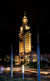 The Freedom Tower. In Miami, Florida.  In 2008 the Miami city landmark was declared a US National Historic Landmark Royalty Free Stock Photos