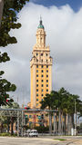 The Freedom Tower. In Miami, Florida.  In 2008 the Miami city landmark was declared a US National Historic Landmark Stock Photo