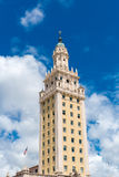 The Freedom Tower in Miami, Florida, USA.  Royalty Free Stock Image