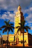 Freedom Tower, Miami. The Historic Freedom Tower Stands on the Waterfront in Miami Florida Stock Photos