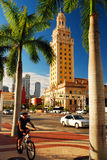 Freedom Tower, Miami. The Freedom Tower in Miami is on of the more historic buildings in the city Royalty Free Stock Photo