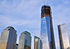 Freedom Tower in New York City Stock Photos