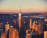 Freedom Tower in New York city Stock Photography