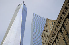 The Freedom Tower NYC royalty free stock photos
