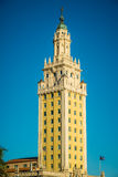 Freedom Tower on street. In Miami, Florida Royalty Free Stock Photo