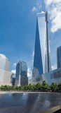 Freedom Tower um memorial New York City do World Trade Center Foto de Stock