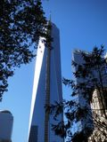 Freedom Tower, un World Trade Center Fotografie Stock Libere da Diritti