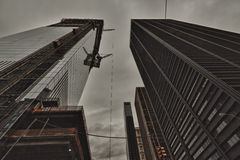 Freedom Tower und das World Trade Center Lizenzfreie Stockfotos