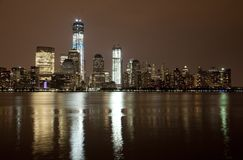 Freedom Tower under construction Stock Images