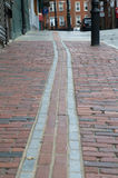 Freedom Trail in Boston Royalty Free Stock Photos